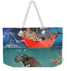 Floating Zoo Weekender Tote Bag by Juli Scalzi