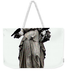 Weekender Tote Bag featuring the photograph Raven's Friend by Salman Ravish