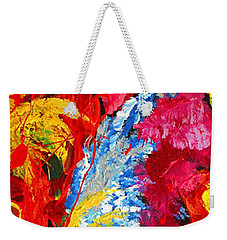 Floral Abstract Part 2 Weekender Tote Bag