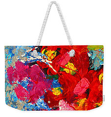 Floral Abstract Part 3 Weekender Tote Bag
