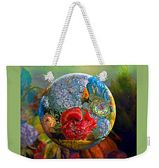 Floral Ambrosia Weekender Tote Bag by Robin Moline