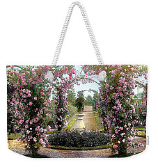 Floral Arch Weekender Tote Bag by Terry Reynoldson