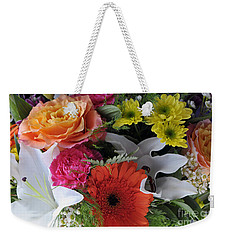 Floral Bouquet 7 Weekender Tote Bag