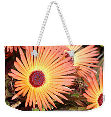 Weekender Tote Bag featuring the photograph Floral by Cathy Mahnke