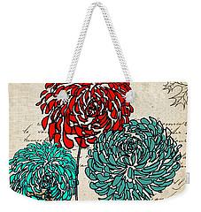 Floral Delight Iv Weekender Tote Bag