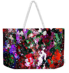 Floral Expression 021015 Weekender Tote Bag by David Lane
