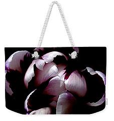 Floral Symmetry Weekender Tote Bag