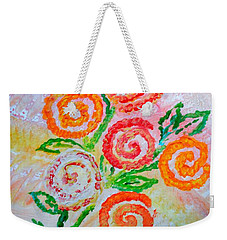 Floralen Traum Weekender Tote Bag by Sonali Gangane