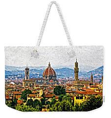 Florence Impasto Weekender Tote Bag by Steve Harrington