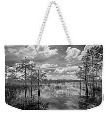 Florida Everglades 5210bw Weekender Tote Bag