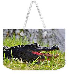 Gator Grin Weekender Tote Bag