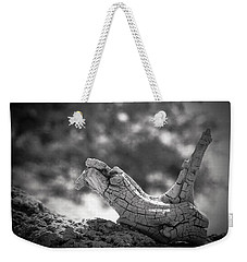 Weekender Tote Bag featuring the photograph Florida Keys Driftwood by Bradley R Youngberg