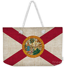 Florida State Flag Weekender Tote Bag by Pixel Chimp