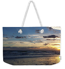Weekender Tote Bag featuring the photograph Florida Sunrise by Ally  White