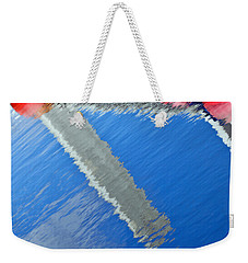 Floridian Abstract Weekender Tote Bag by Keith Armstrong