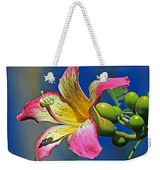 Floss Silk Bloom Weekender Tote Bag