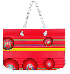Flotation Devices - Lipstick Weekender Tote Bag