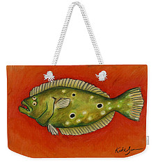 Flounder Weekender Tote Bag