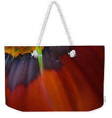 Weekender Tote Bag featuring the photograph Flower by Andy Prendy
