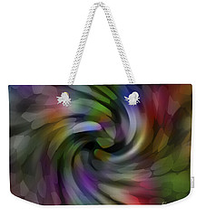 Flower Car Weekender Tote Bag