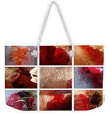 Flower Collage Horisontal Weekender Tote Bag by Randi Grace Nilsberg
