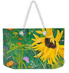 Flower Fun Weekender Tote Bag