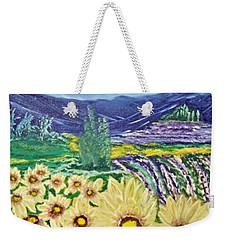 Flowers In August Weekender Tote Bag