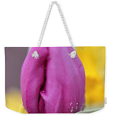 Flower In The Spring Weekender Tote Bag by Miguel Winterpacht