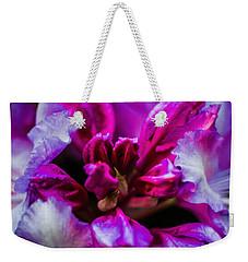 Flower Love  Weekender Tote Bag by Naomi Burgess