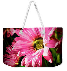 Weekender Tote Bag featuring the photograph Flower by Ludwig Keck