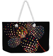 Flower Of Lights Weekender Tote Bag