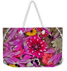 Flower Offerings - Jabalpur India Weekender Tote Bag