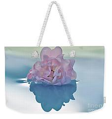 Flower On Water Weekender Tote Bag