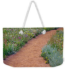 Flower Path Weekender Tote Bag