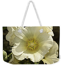 Flower Petals Of A White Flower Weekender Tote Bag