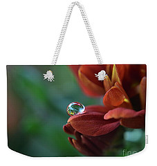 Flower Reflection Weekender Tote Bag