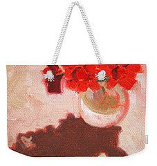 Flower Shadows Still Life Weekender Tote Bag
