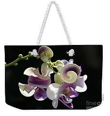 Flower-snail Flower Weekender Tote Bag