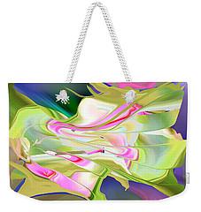 Flower Song Abstract Weekender Tote Bag