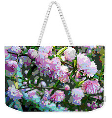 Flowering Almond Weekender Tote Bag