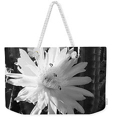 Flowering Cactus 5 Bw Weekender Tote Bag