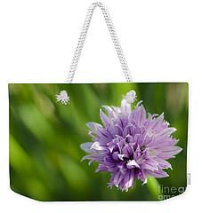 Flowering Chive Weekender Tote Bag
