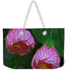Flowering Maple Weekender Tote Bag