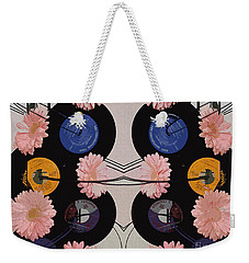 Flowers And Phonographs Weekender Tote Bag by Nina Silver