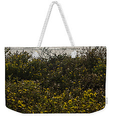 Flowers And The Sea Weekender Tote Bag
