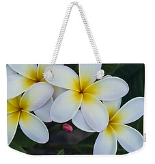 Flowers And Their Bud Weekender Tote Bag