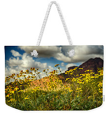 Flowers Are Food For The Soul  Weekender Tote Bag