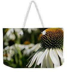Flowers - Echinacea White Swan Weekender Tote Bag