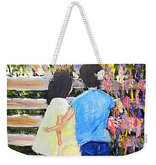 Flowers For Her Weekender Tote Bag