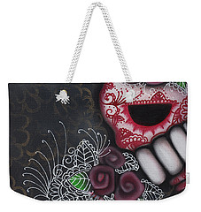 Flowers For The Dead II Weekender Tote Bag by Abril Andrade Griffith